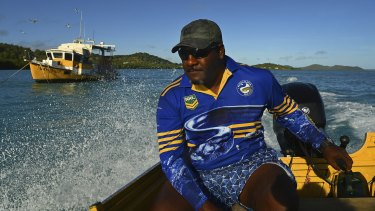 Fishermen in the Torres Strait such as Stanley Cook Jnr say they have noticed a significant change in the weather patterns in their lifetime.